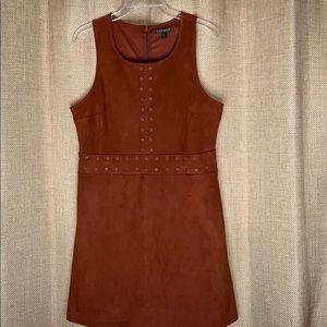 Never been worn express burnt orange dress